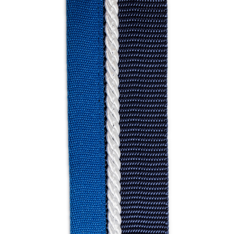 Greenfield Selection Porte tapis blue marine/blue clair - blanc