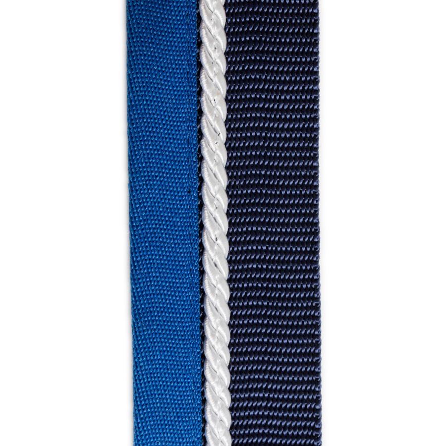Greenfield Selection Zadeldoekhouder blauw/lichtblauw - wit