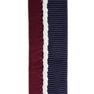 Greenfield Selection Porte tapis bleu marine/bordeaux - blanc