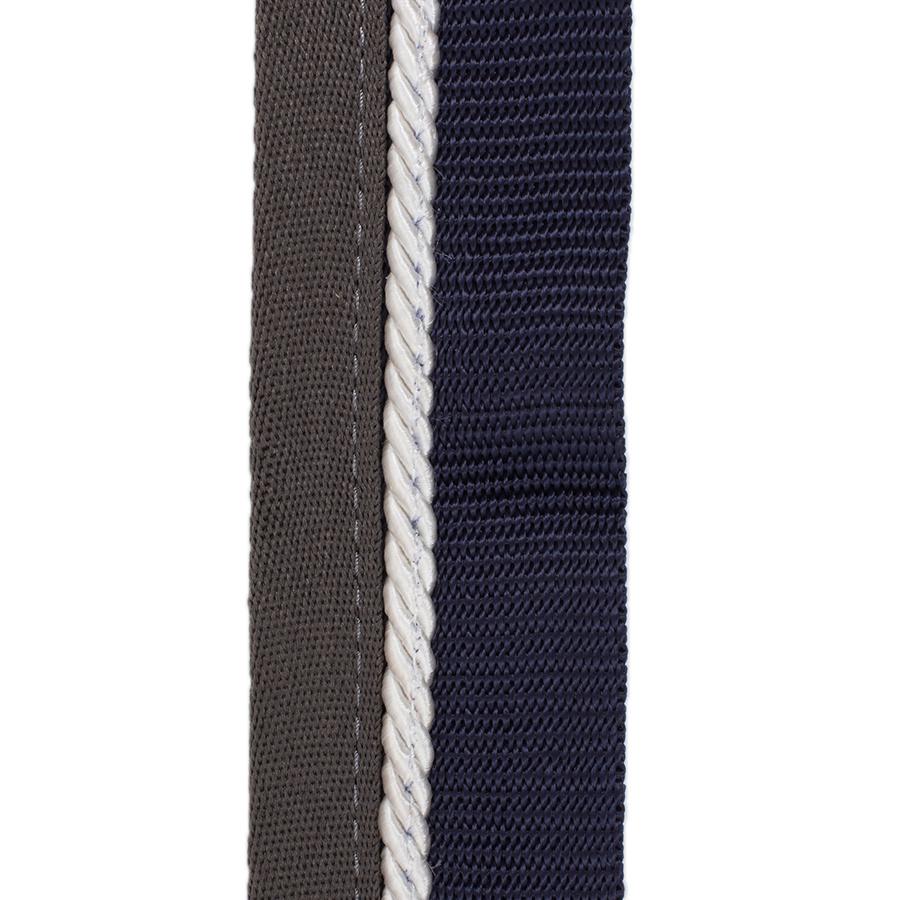 Greenfield Selection Zadeldoekhouder blauw/grijs - wit