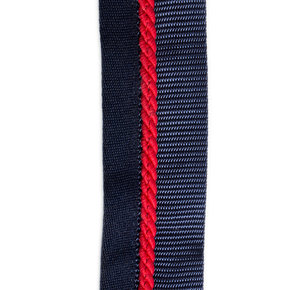Saddle pad holder navy/navy - red