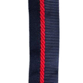 Zadeldoekhouder blauw/blauw - rood