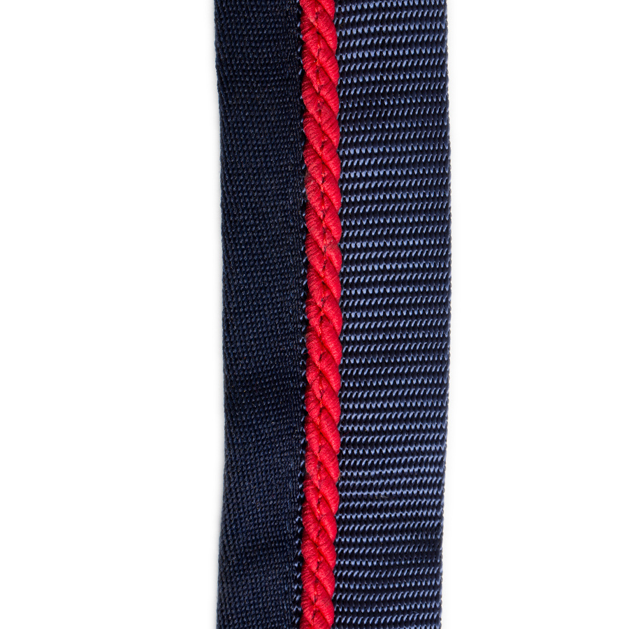 Greenfield Selection Saddle pad holder navy/navy - red
