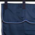 Greenfield Selection Zadeldoekhouder blauw/blauw - wit/koningsblauw