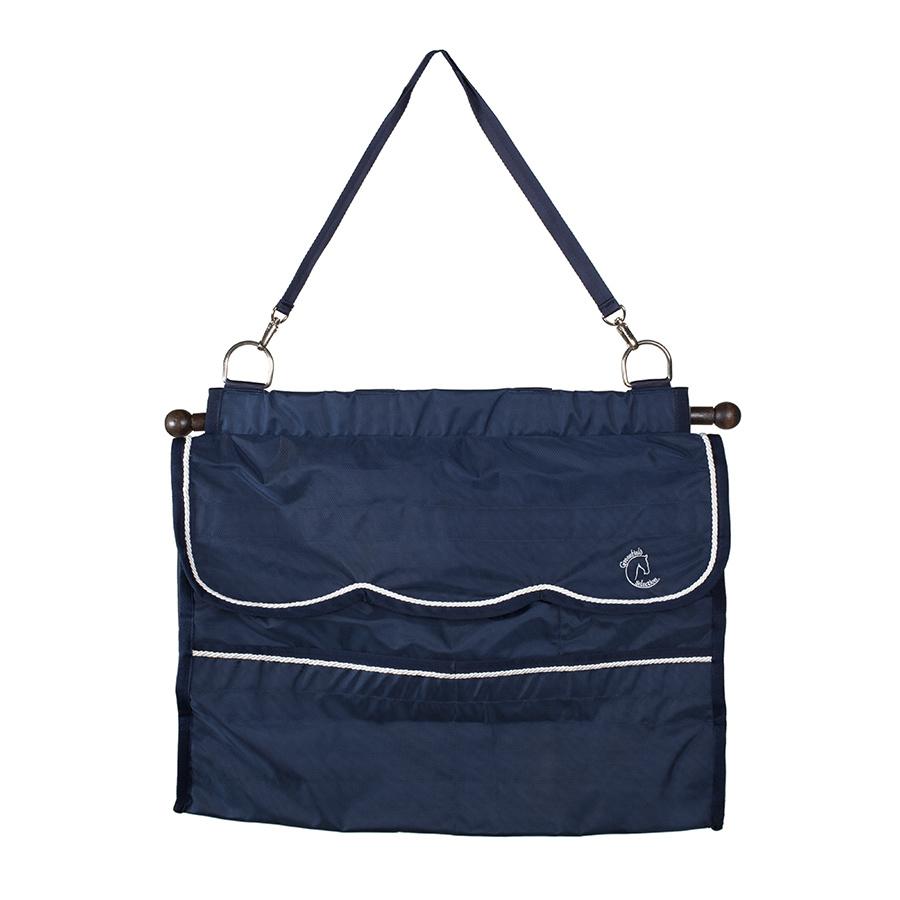 Greenfield Selection Storage bag navy/beige - navy/beige