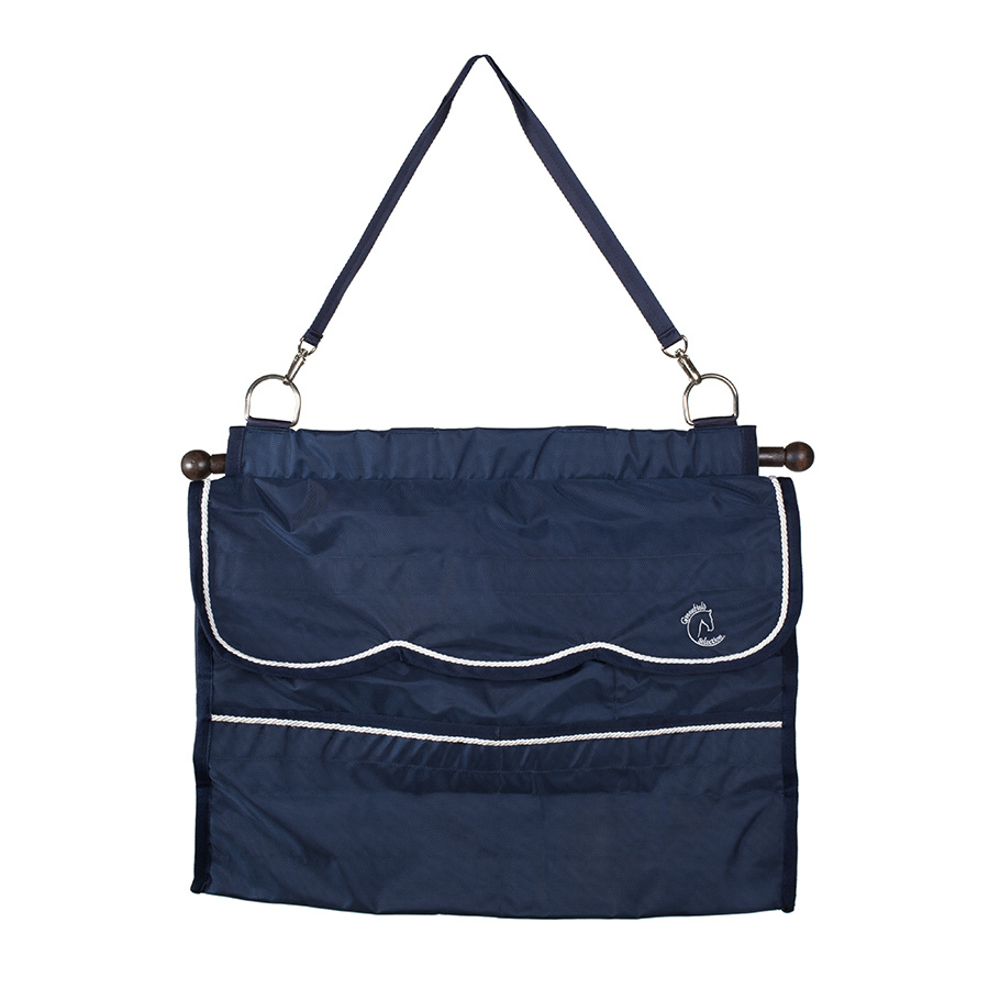 Greenfield Selection Storage bag navy/red - white