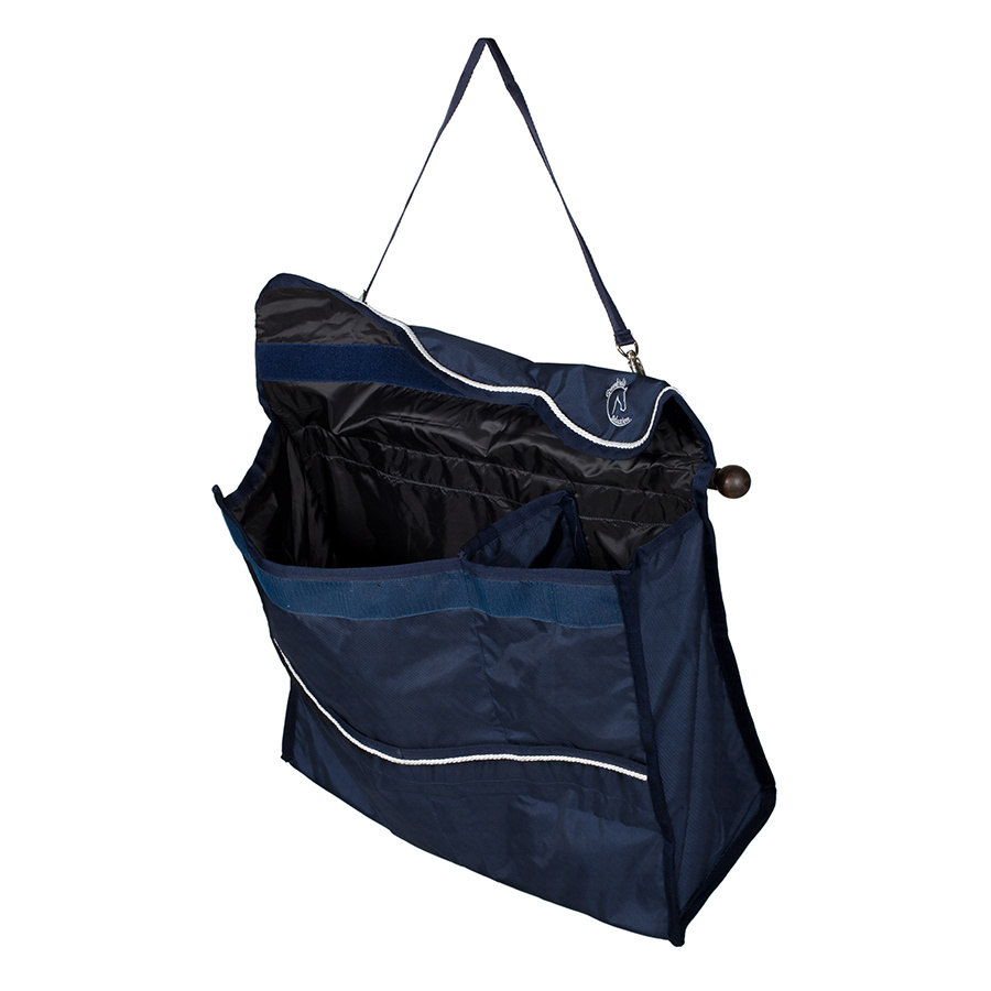 Greenfield Selection Sac de rangement bleu marine/rouge - blanc