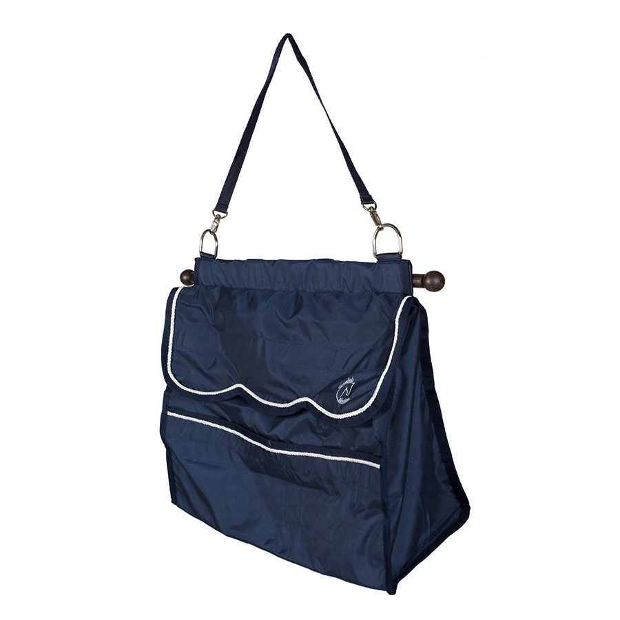 Greenfield Selection Storage bag navy/ light blue - white
