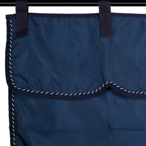 Stable curtain navy/navy -mix