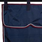 Greenfield Selection Sac de rangement bleu marine/bordeaux - blanc
