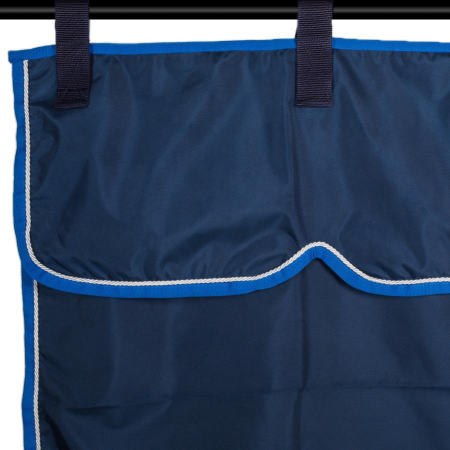 Greenfield Selection Stalgordijn blauw/lichtblauw - wit