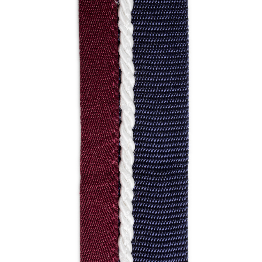 Greenfield Selection Stalset blauw/bordeaux - wit
