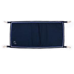 Porte boxe bleu marine/bleu marine - blanc/bleu royal