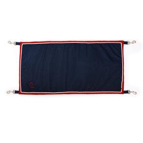 Porte boxe  bleu marine/rouge - blanc