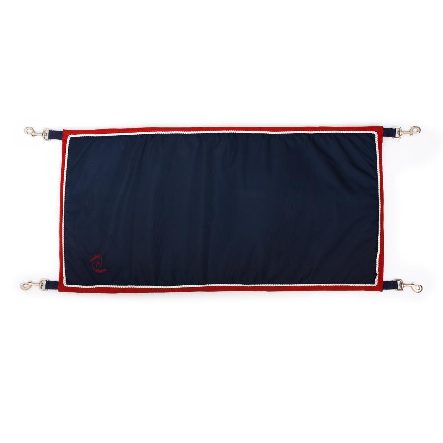 Greenfield Selection Staldeurdoek blauw/rood - wit