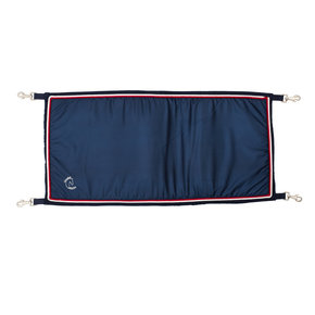 Porte boxe bleu marine/bleu marine - blanc/rouge