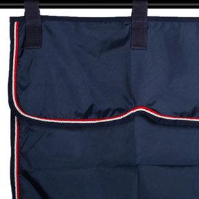 Tenture bleu marine/bleu marine - blanc/rouge