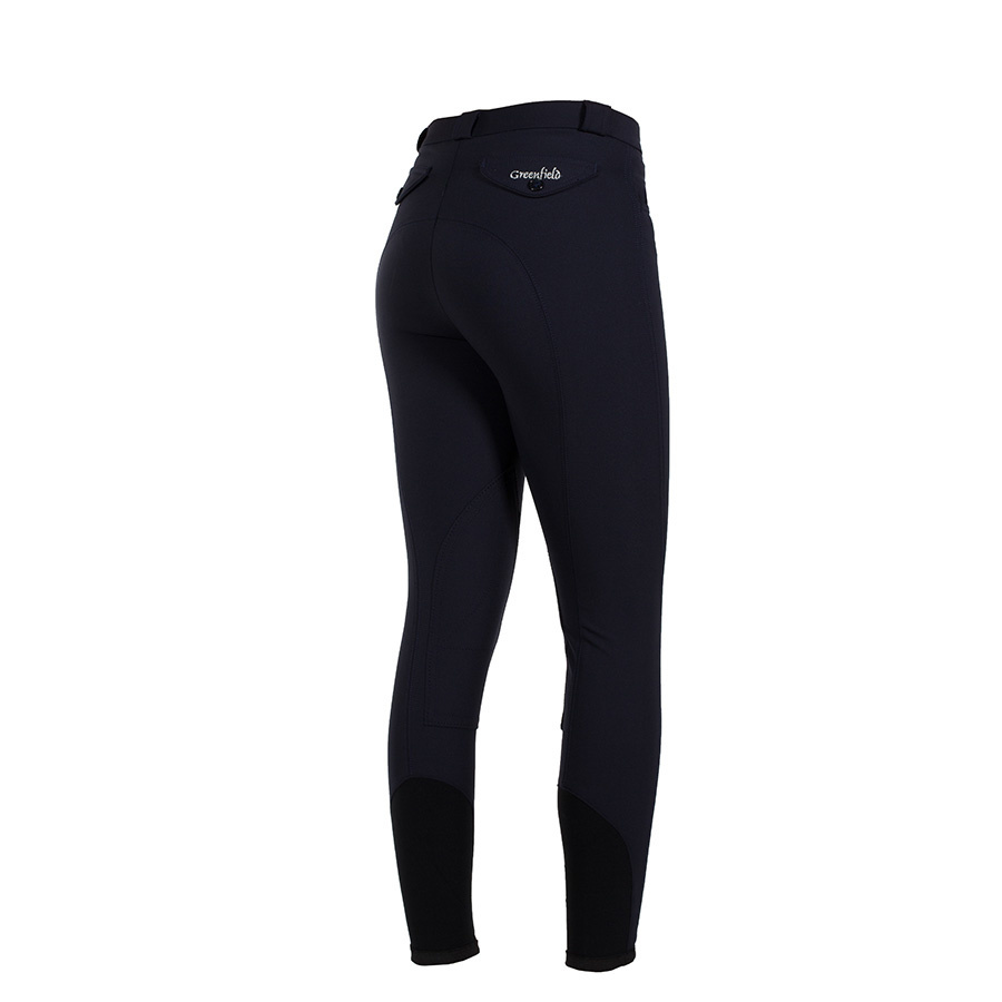 Greenfield Selection  Breeches GF ladies - black - full seat grip