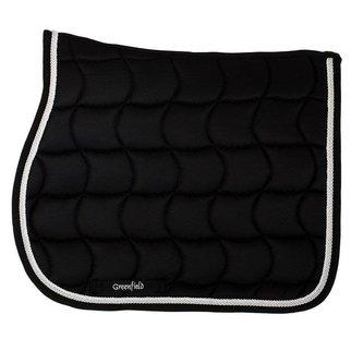 Greenfield Selection Saddle pad pony - black/black - white/silvergrey