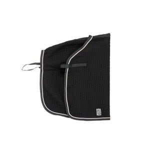 Carré couvre-reins thermo - noir/noir-beige