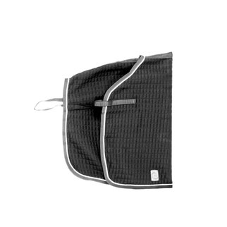 Greenfield Selection Carré couvre-reins thermo - gris/gris-gris argent