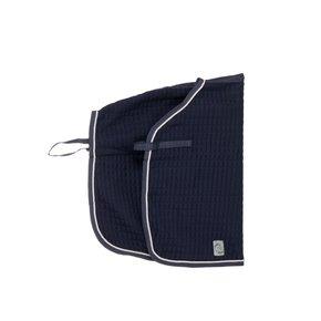 Carré couvre-reins thermo - bleu marine/bleu marine-gris argent