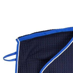 Carré couvre-reins thermo - bleu marine/bleu royal-blanc
