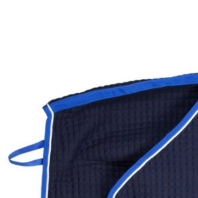 Thermo quartersheet - blauw/koningsblauw-wit