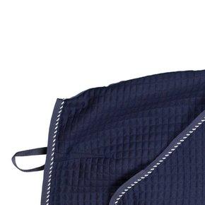 Carré couvre-reins thermo - bleu marine/bleu marine-mix