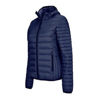 Kariban jacket with hoodie - ladies