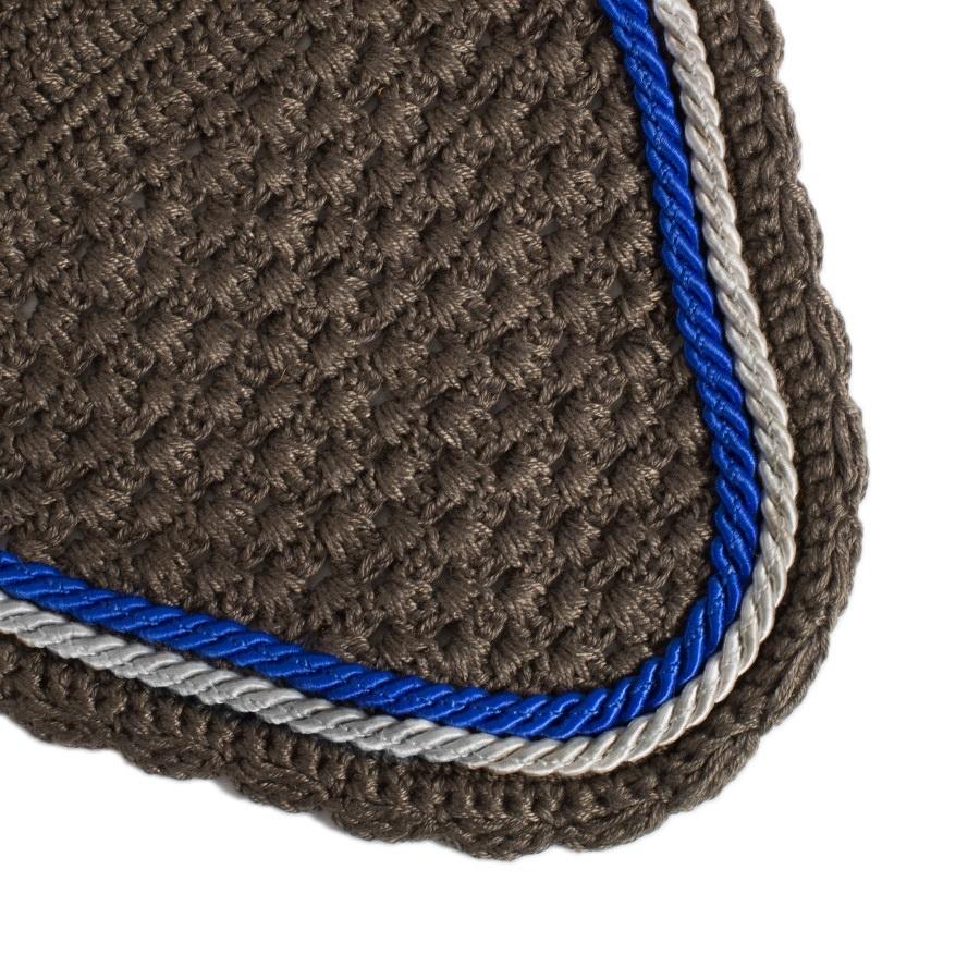 Greenfield Selection M/2 - Bonnet - gris/gris-gris argent/bleu royal