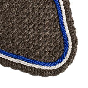Bonnet - gris/gris-blanc/bleu royal