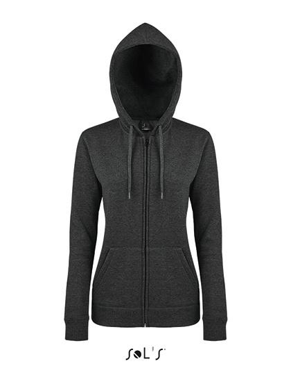 Sol's - Seven - Sweatervest met kap - dames