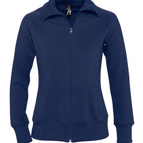 Sol's - Sundae/Soda - zipped sweater jacket with collar - ladies