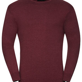 Russell - Pull-over en tricot avec col rond - hommes