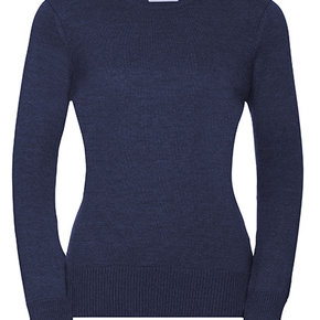 Russell - Pull-over en tricot avec col rond - femmes