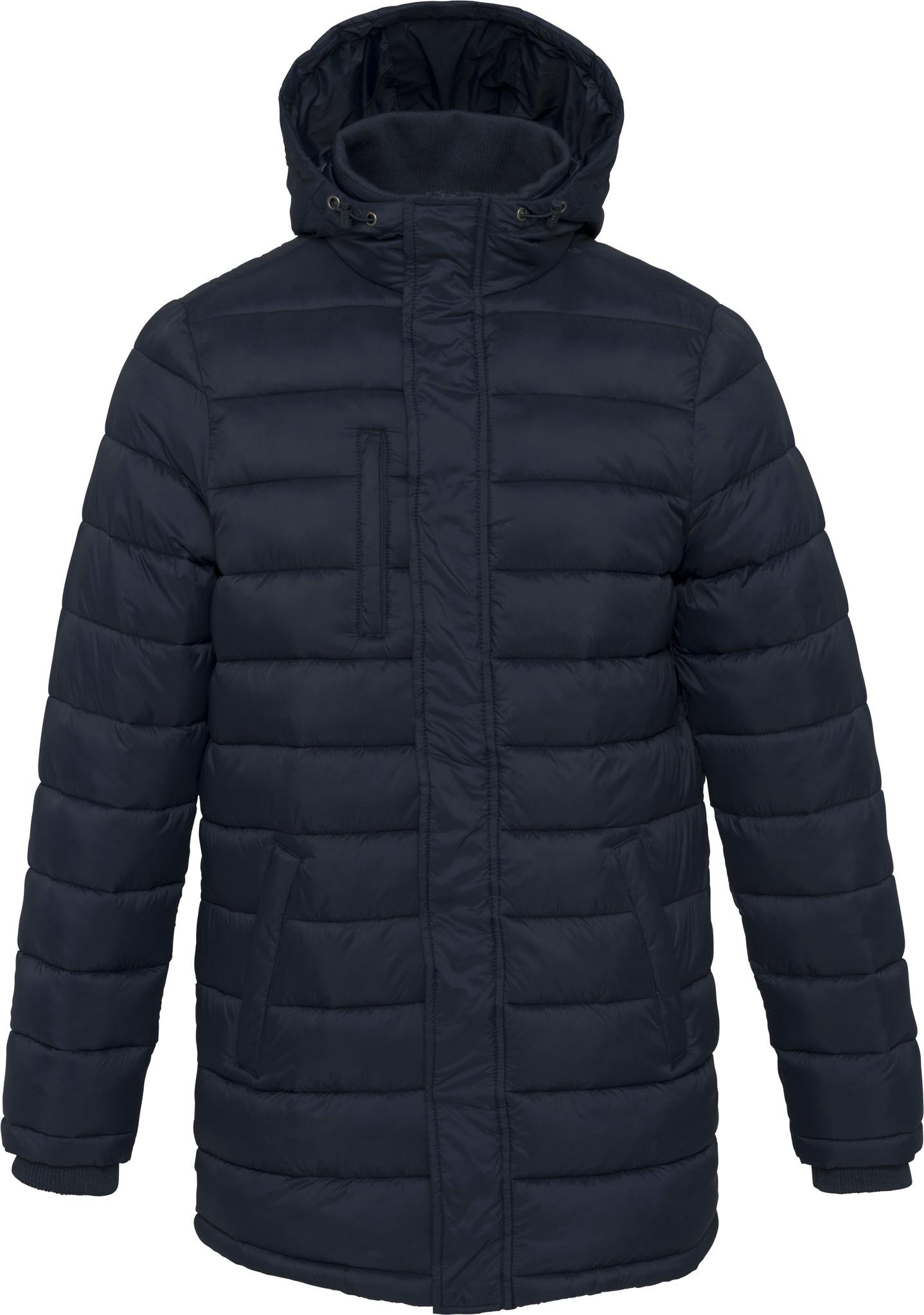 Kariban Kariban long jacket with hoodie - men