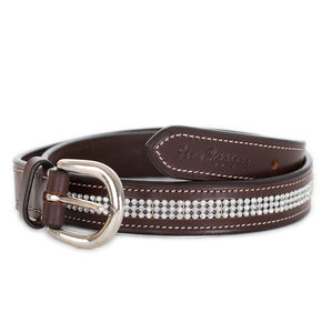 Belt with strass