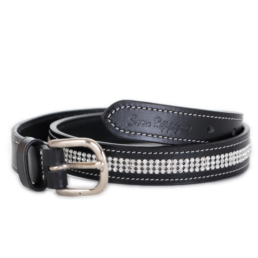 Sarm Hippique Belt with strass