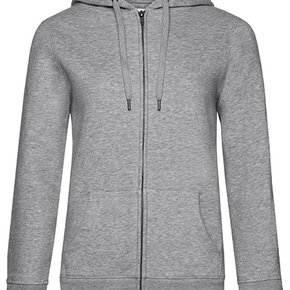 QUEEN - Zipped hooded sweater jacket - dames