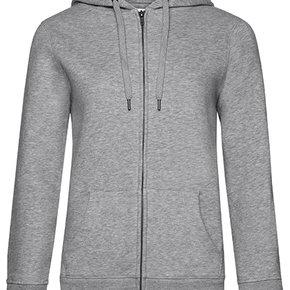QUEEN - Zipped hooded sweater jacket - ladies