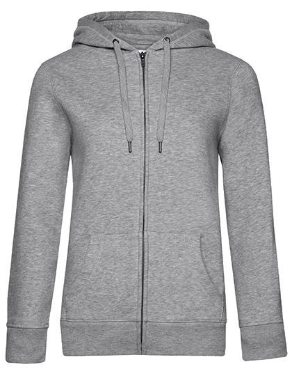 QUEEN - Zipped hooded sweater jacket - dames