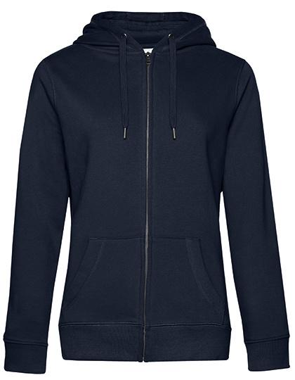 QUEEN - Zipped hooded sweater jacket - femmes