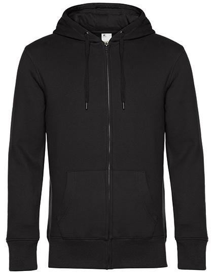 KING - Zipped hooded sweater jacket - heren