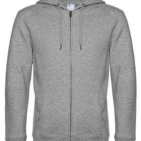 KING - Zipped hooded sweater jacket - men