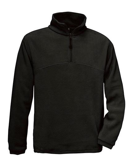 B&C Highlander - Fleece demi zippé - Unisex