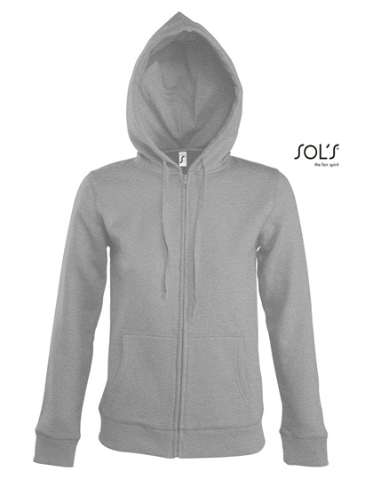 Sol's - Seven - Zipped sweaterjacket with hood - dames
