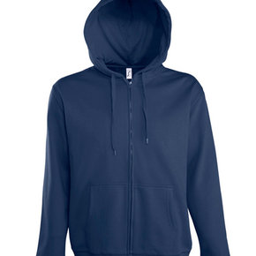 Sol's - Seven - Zipped sweater jacket with hoody - men