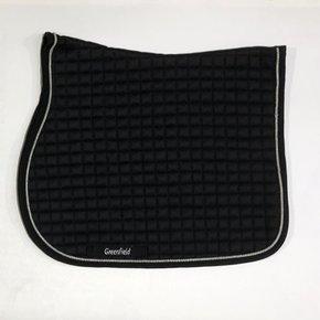 Saddle pad cookie - black/black-silvergrey