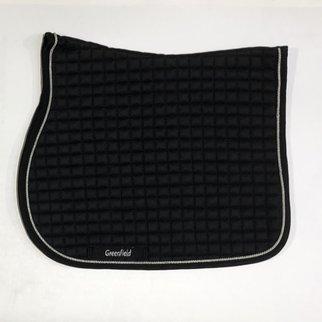 Greenfield Selection Zadeldoek cookie - zwart/zwart-zilvergrijs